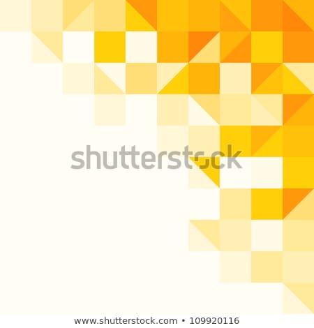 Vector goud heldere driehoek gouden Stockfoto © fresh_5265954