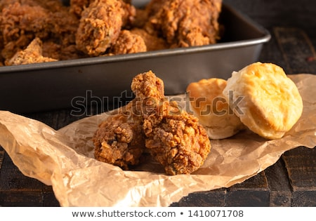 Buttermilk Fried Chicken Drumsticks Stock photo © Alex9500