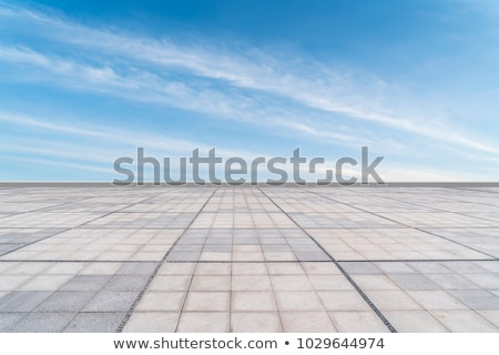 Blue sky with white clouds under sunshine Stock photo © Freedomz