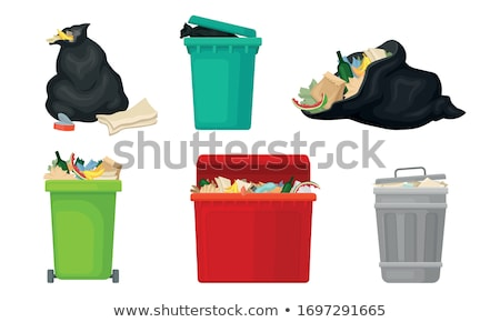 garbage in an open dump Stock photo © nito