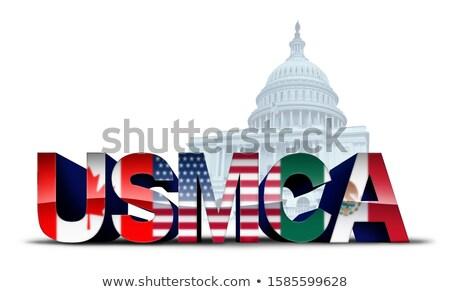 EUA legislación comercio acuerdo nuevos Estados Unidos Foto stock © Lightsource