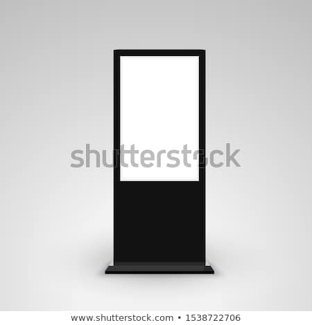 Empty Billboard and Ad, Advertising Board Vector Stock photo © robuart
