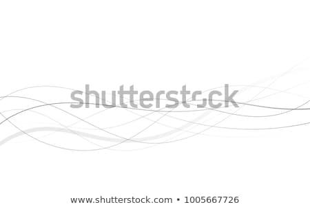 黒 曲線 行 デザイン 抽象的な ストックフォト © SArts