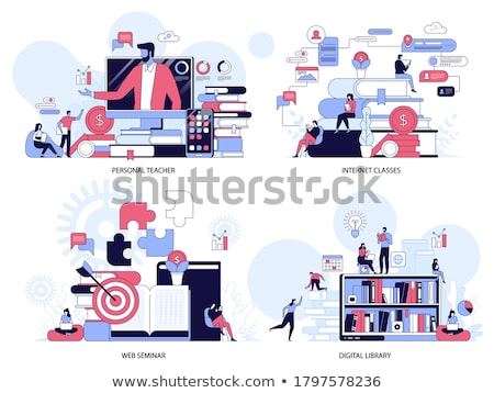Science university class vector concept metaphor Stock photo © RAStudio