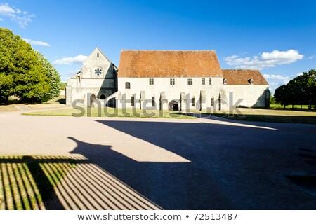 Zdjęcia stock: Opactwo · centrum · Francja · budynku · architektury · historii