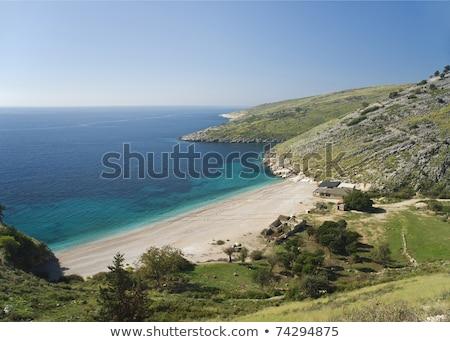 Beach albania ionian coast europe holidays sunny Stock photo © travelphotography