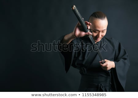 fight the Japanese sword Stock photo © mayboro
