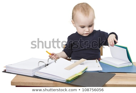young child with ring file Stock photo © gewoldi