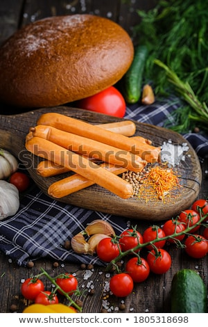 Tak tomaten vers geïsoleerd tomaat Stockfoto © elly_l