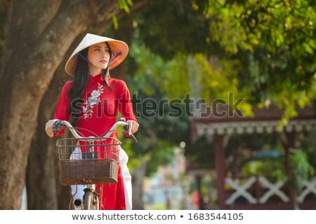 красивой · традиционный · молодые · африканских · женщину - Сток-фото © aremafoto