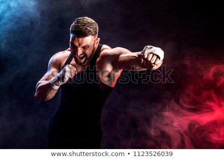 Stock photo: Combat sportsman