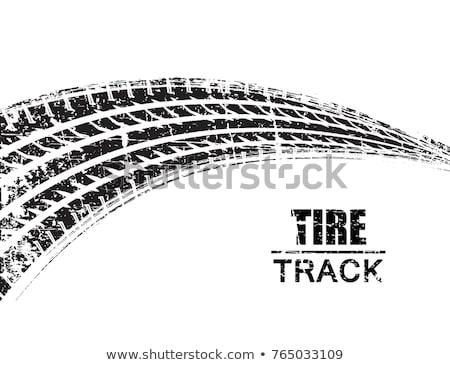dirty Tire tread Stock photo © nuttakit