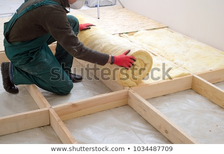 Insulation Installation Stock photo © lisafx