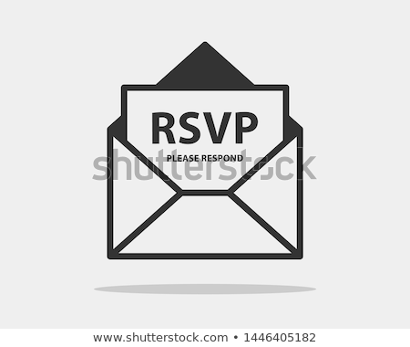 RSVP Stock photo © RTimages