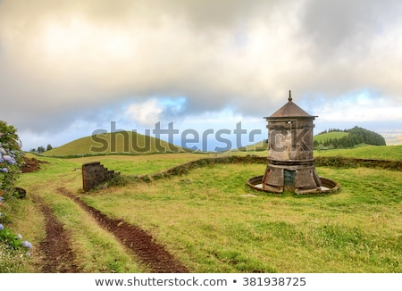 windmill at Sao Miguel Island Stock photo © prill