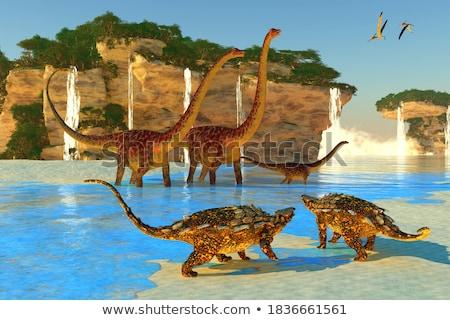 飛行 は虫類 30 3dのレンダリング 鳥 恐竜 ストックフォト © AlienCat