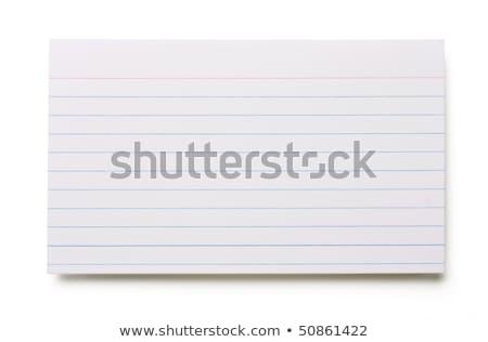 Cartões dobrador cartão lugar clipe de papel fundo Foto stock © Gordo25