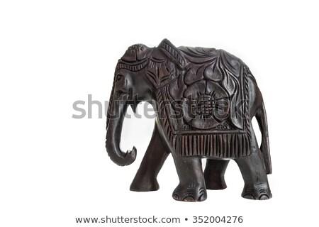 Statue of elephants Stock photo © joyr