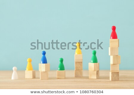 social · hierarquia · equipe · humanismo · comunidade · líder - foto stock © 4designersart