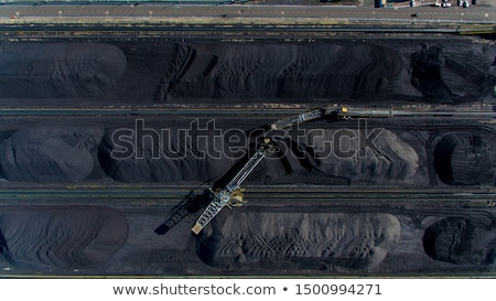 stockpile of coal stock photo © stoonn