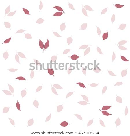 Stockfoto: Najaar · zijde · bladeren · eps · vector