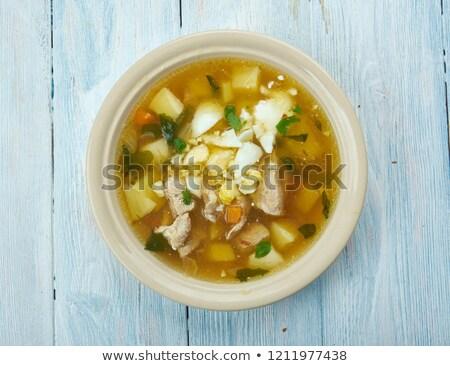 Sorrel Soup Stok fotoğraf © Fanfo