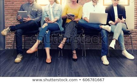 social network group stock photo © burakowski
