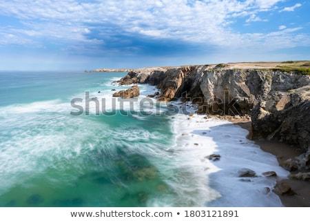 coast in Brittany Stock photo © prill