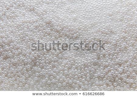 Colorato perline bianco moda vetro arte Foto d'archivio © natika