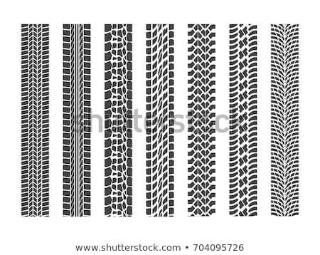 pneumatico · prospettiva · view · isolato · bianco · sport - foto d'archivio © m_pavlov