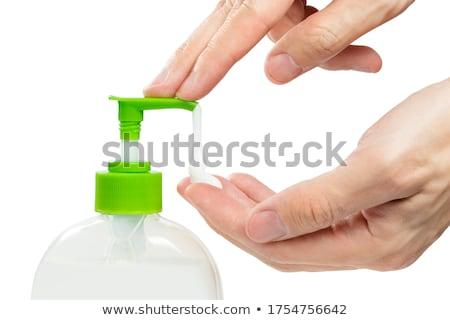 Applying liquid soap Stock photo © pressmaster