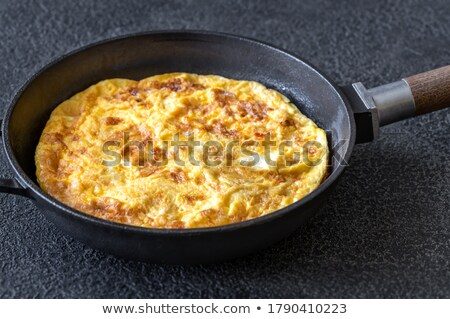 フライドポテト · 食品 · 卵 · サラダ · 食事 · ファストフード - ストックフォト © m-studio