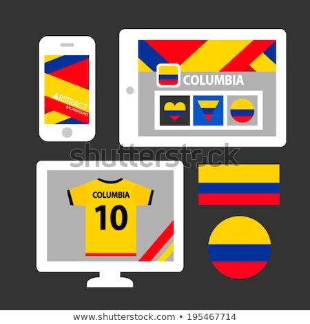 smartphone national flag of columbia    Stock photo © vepar5