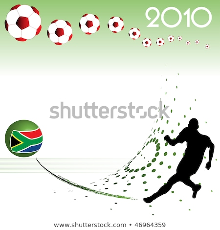 official world cup 2010 ball Stock photo © Viva