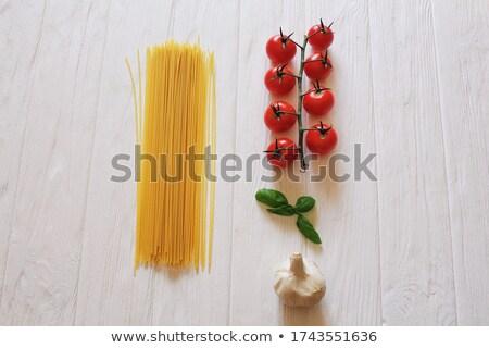 сырой · спагетти · продовольствие · здоровья - Сток-фото © rob_stark