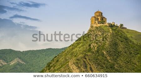 монастырь · Грузия · православный · восточных · Церкви · синий - Сток-фото © kor