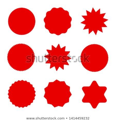 предлагать · красный · вектора · икона · дизайна - Сток-фото © rizwanali3d