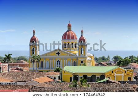 Granada roofs Stock photo © Hofmeester