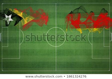 Niemcy flagi puzzle odizolowany biały działalności Zdjęcia stock © Istanbul2009