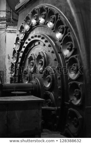 Részlet vasgyár Németország vonat ipar ipari Stock fotó © meinzahn