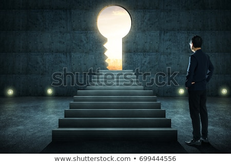 time key solution stock photo © lightsource