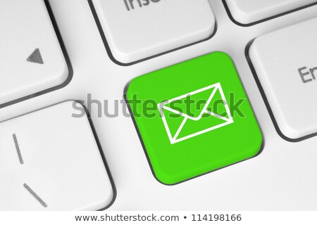 computer keyboard green contact 2 stock photo © oakozhan