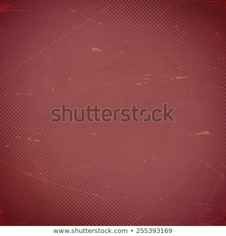 Old marsala scratched card with halftone gradient Stock photo © SwillSkill