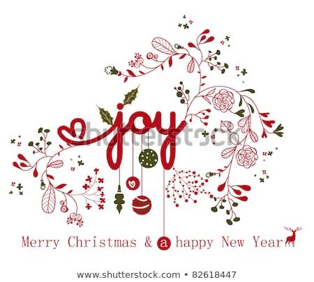 christmas card 2011 Stock photo © orson