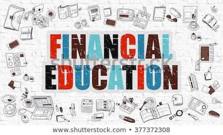kompetencia · fehér · üzlet · oktatás · téglafal · szófelhő - stock fotó © tashatuvango