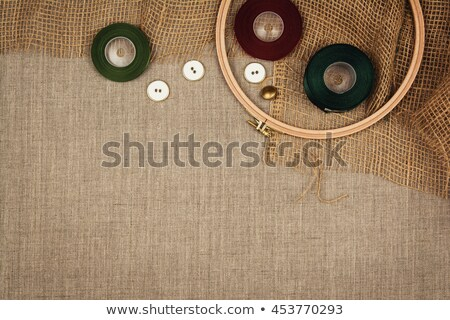 Sewing Tool Header Design Stock photo © lenm