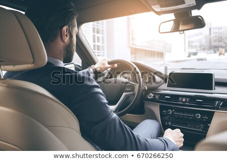 man looking out of car window Stock photo © IS2