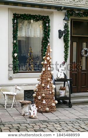 Christmas tree with sheeps Stock photo © adrenalina