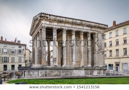 Roman temple in France Stock photo © Hofmeester