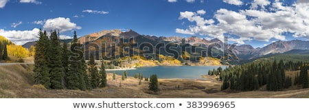 mountains and a wilderness lake Stock photo © wildnerdpix